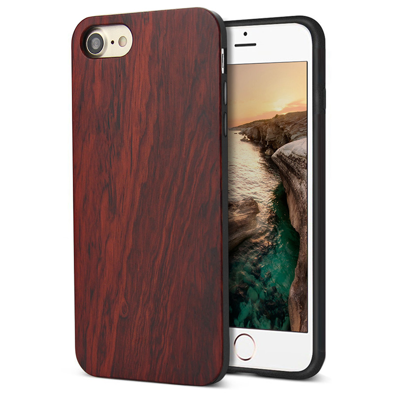 Wooden phone accessories of mobile cover for iphone7