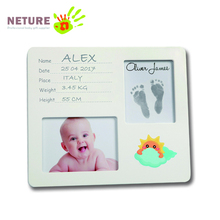 Best baby handprint crafts and wooden picture frame kit