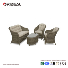 Outdoor Rattan Round High Back Sofa Set OZ-OR070