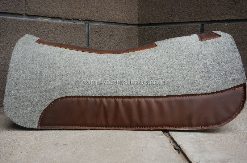 Draft equestrian western saddle
