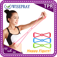 Body tone up gym fitness exercise port types rope expander