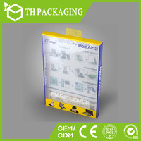 custom pvc plastic box packaging box for phone case