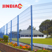 Beautiful grid welded garden fence panels wire mesh fencing