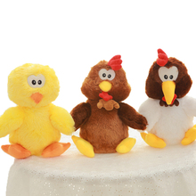 Custom Logo Stuffed Toys Mini Chicken OEM ODM
