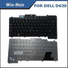 Original standard 100% new laptop keyboard for dell d630 laptop