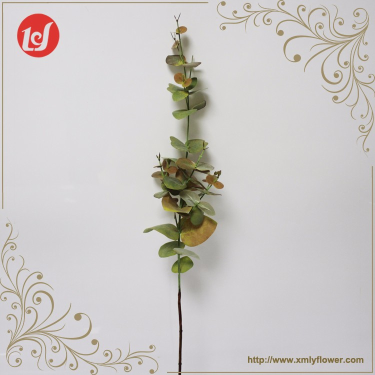 SFH63001 Decorative Centerpieces Dried Tree Branch Faux Eucalyptus Artificial Leaves Branches artifical leaves