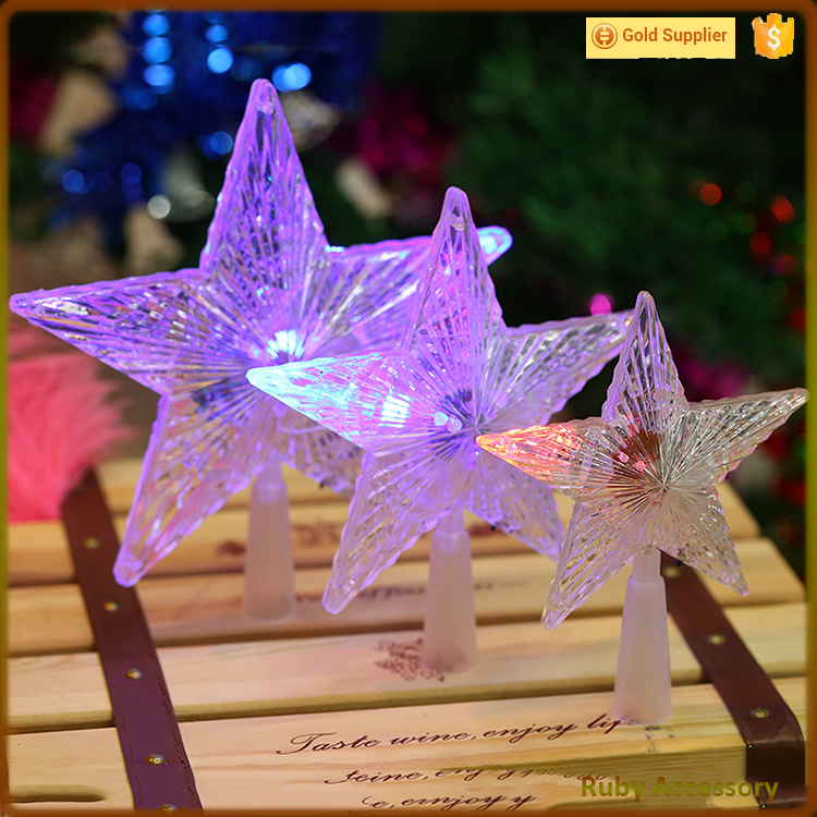 LED hanging star for christmas ornament