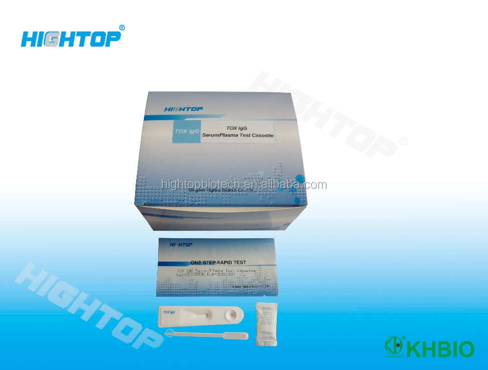 Hightop Factory Made Toxo Antibody Igg/Igm Test Hospital TOXO Test