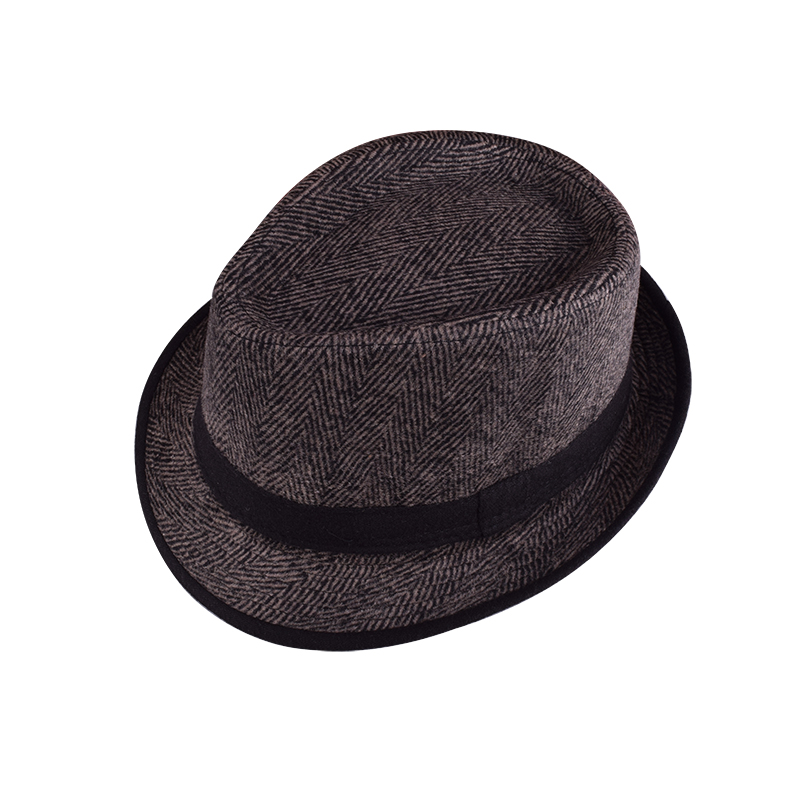 Wholesales fashion high quality classic jazz hat for man