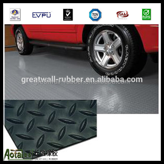 Anti-slip High Grade Diamond Plate Rubber Matting