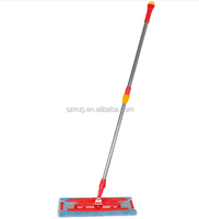 Cotton floor cleaning wet and dry mop with Flat aluminum board