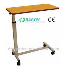 hospital bed tray table used hospital overbed table
