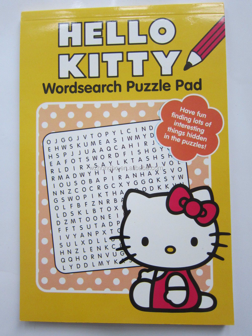 cheap custom wordsearch puzzle pad