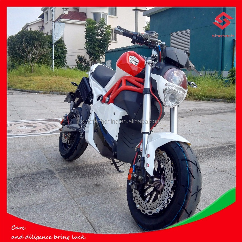trade assurance new Lower price 3000W cool sport electric racing motorcycle