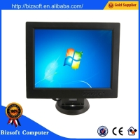 Bizsoft CS-POS 12.1 inch LCD cheap glossy monitor /screen
