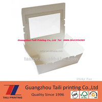 Hot sell paper styrofoam food box