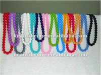 New design silicone beads necklace/Silicone Rubber Necklace Chain/Silicone Beads Bracelets