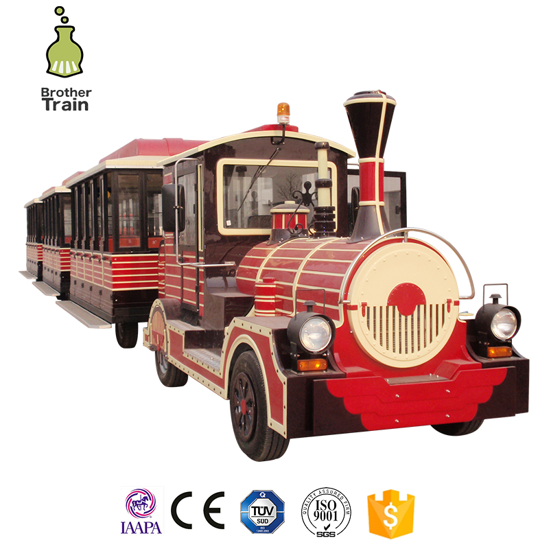 1 Year Warranty electric entertainment train bus set for kids and adult