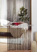 solid color thread curtain for living room