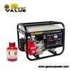 Power Value 2kw 2000w Gas Series LPG LNG CNG Natural Gas Generator
