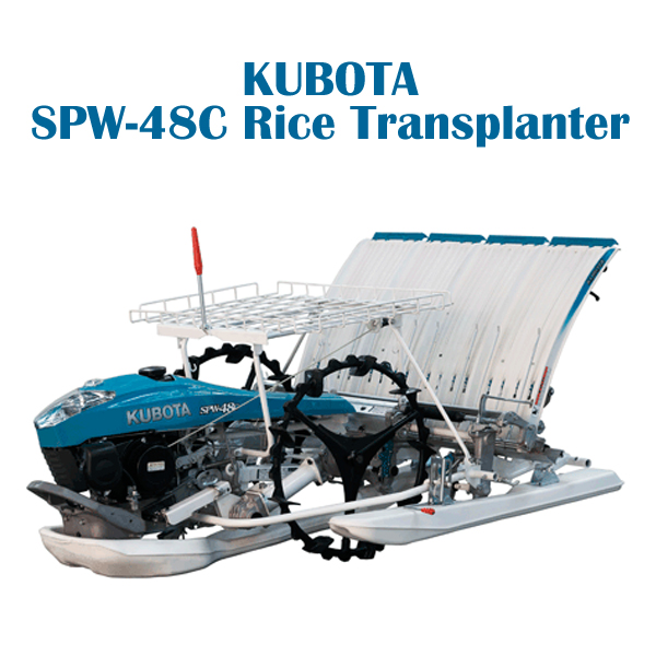 4 rows rice transplanter