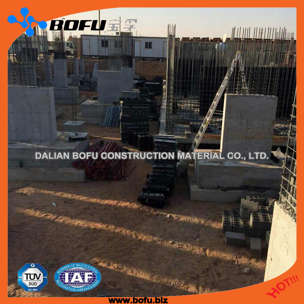 #1 strap black concrete pouring column formwork by <strong>rail</strong>