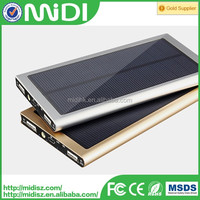 Custom New design OEM solar power bank case for iphone