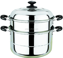 good quality stainless steel steamer pot