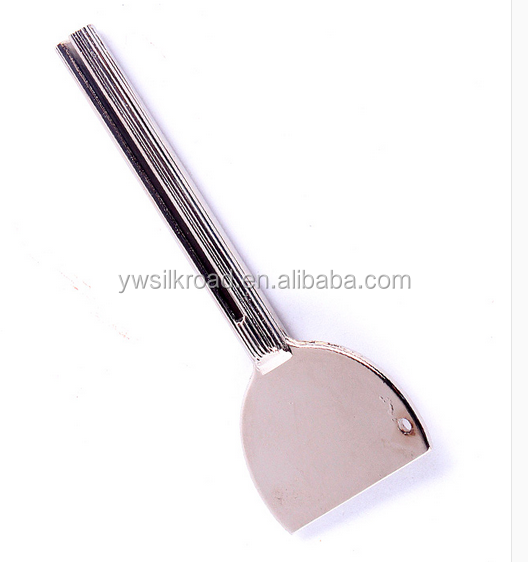 hot sale mini key shape aluminum salon tube squeezer