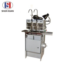 SX-202 staple stitching machine book stitching machine saddle stitching;C-iron;wire stitching flat stitching machine