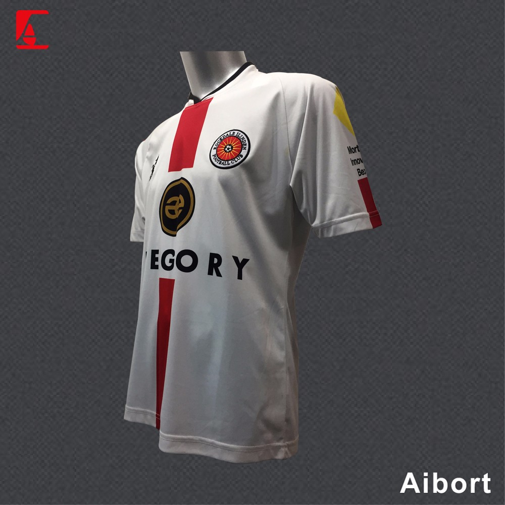 2017 new design sublimation soccer jersey for man