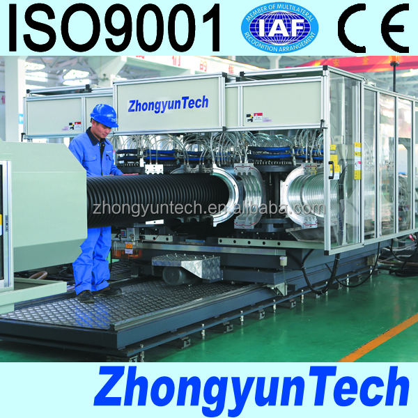 PE Corrugated Pipe Extruder Machine