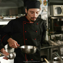 chef coat uniform/high grade kitchener coat/high grade kitchener jacket