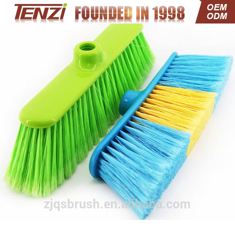 home Cleaning floor plastic broom broom head for wooden floor
