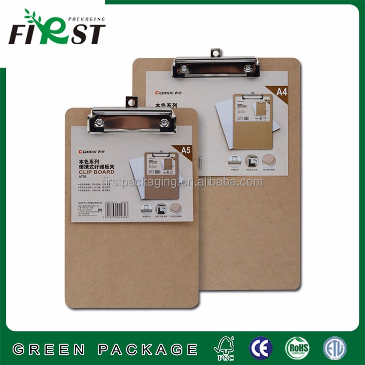High grade cardboard business writing record file folder papeleria stationery