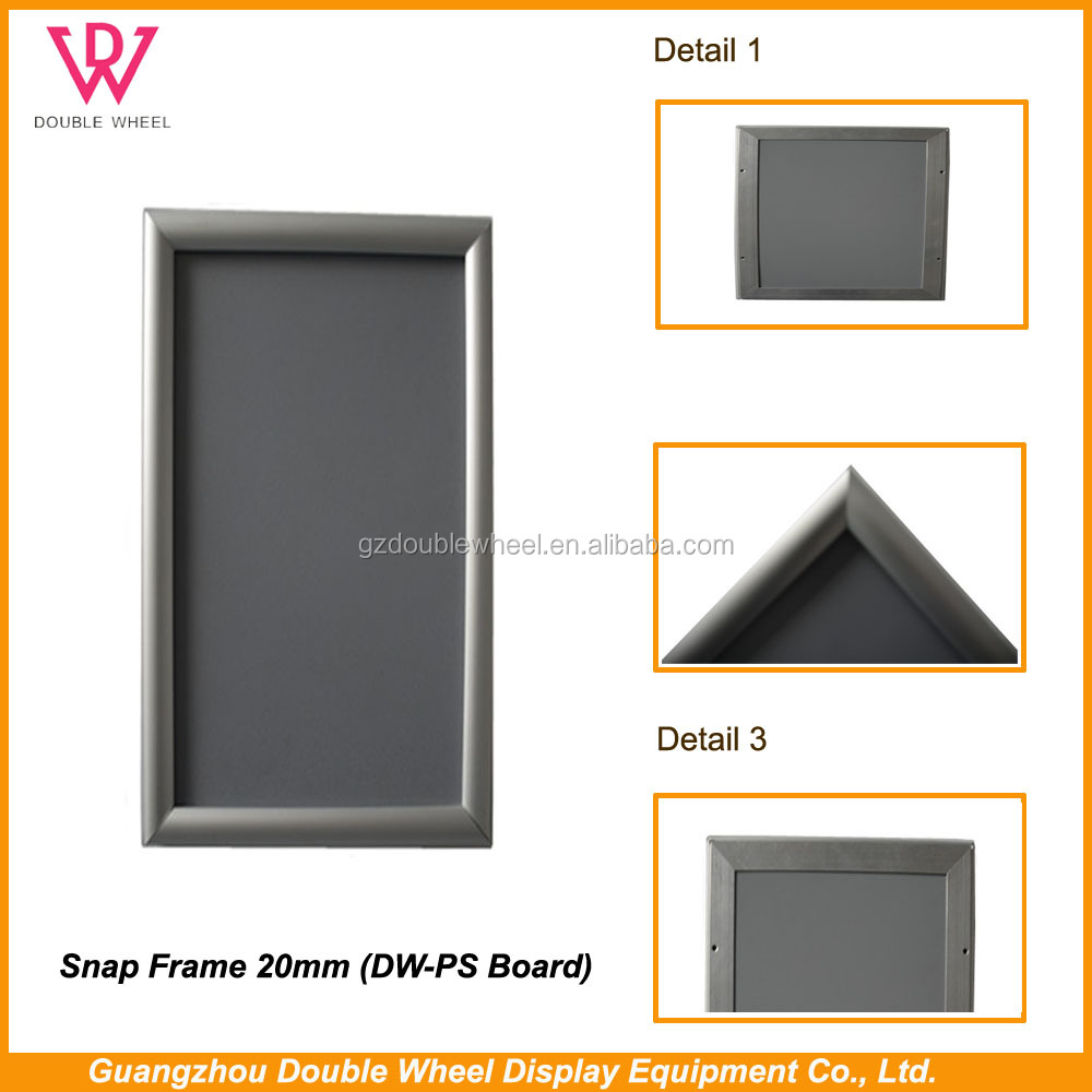 25mm photo snap frame a2 snap frame with click