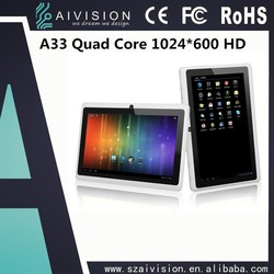 Big Promotion ! 7 inches Allwinner A23 RK3026 Dual Core Android 4.4 WIFI Bluetooth very cheap android tablet pc Q88 Only $19.9