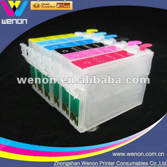 refill Ink cartridge for epson 1390 T0821N-T0826N