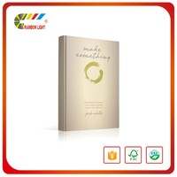 High quality direct factory offset paper die cutting hardcover book print service