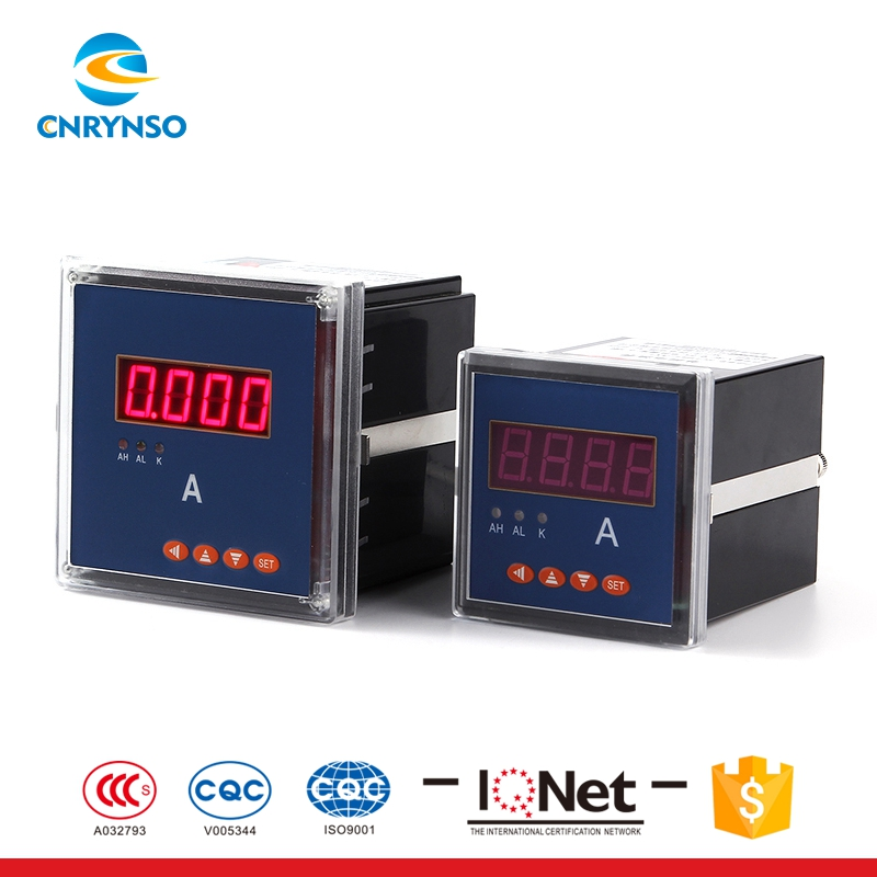 New design black Single-phase digital electric power meter