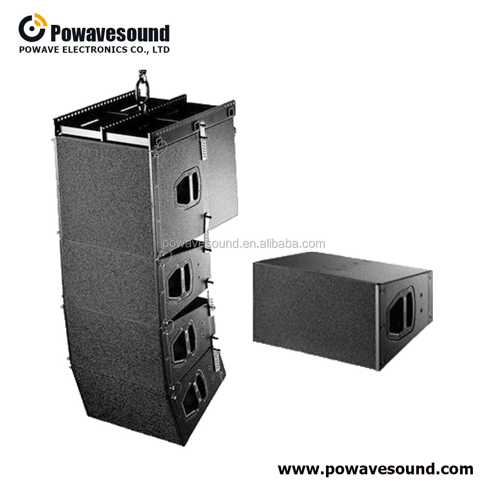 LA-2210 powavesound q1 line array d b q 7 high power professional dual 10 inch line array speaker