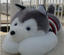 new design hot sell Special creative kids soft stuffed plush toy animal dog doll Husky doll gift wholesale wedding birthday gift