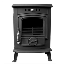 Best Sale Black Paint Freestanding Home Heating Cast Iron Fireplace