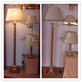 Low price elegance floor stand lamps room decorative lighting VOL