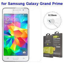 2015 Hot Product Tempered Glass Screen Protector for Samsung Galaxy Grand Prime