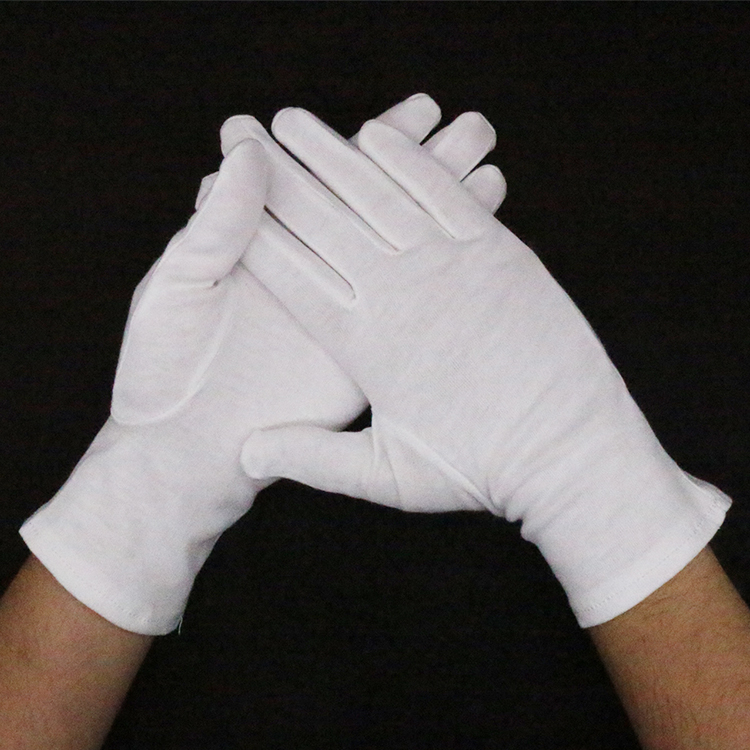 Best Sales High Quality Cotton Working Inspection Gloves