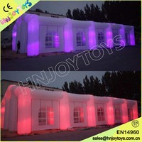 Outdoor Wedding Big White LED Inflatable Party Tent Price for Sale