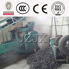 High output crumb rubber powder scrap rubber tyre recycle machine