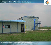Hot !! Modern prefabricated wooden log house Supplier