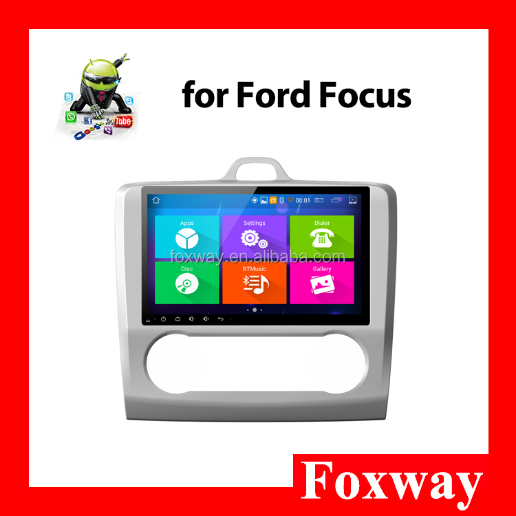 Android car audio system for Ford Focus with FM Transmitter